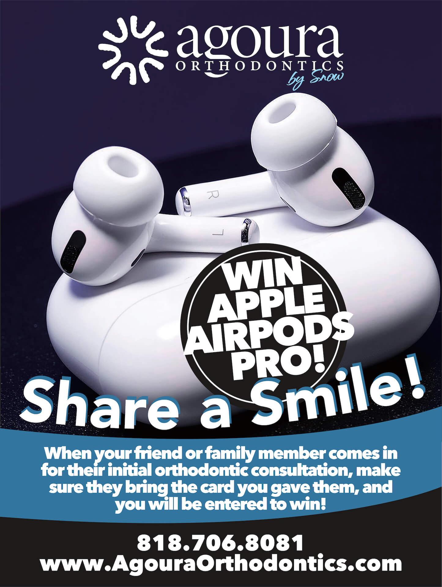 Share a smile flyer